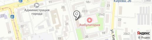 Горводоканал, МУП на карте Комсомольска-на-Амуре