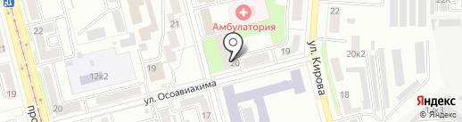 Геометрия Взгляда на карте Комсомольска-на-Амуре