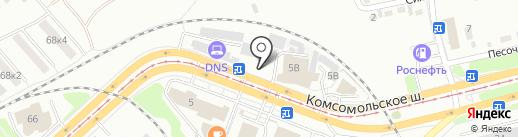 ШИНОМОНТАЖ 1 на карте Комсомольска-на-Амуре