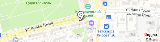 Ferroli Центр на карте Комсомольска-на-Амуре