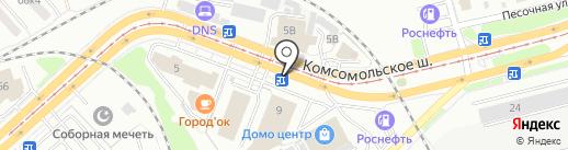 Закуска Гиро на карте Комсомольска-на-Амуре