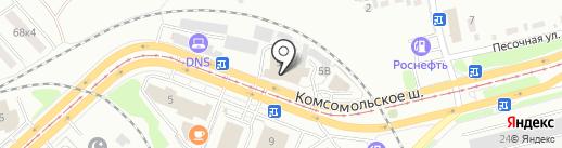 Автоформула+ на карте Комсомольска-на-Амуре