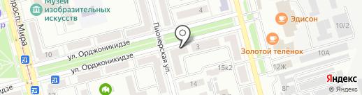 Популярные услуги Хабаровского края на карте Комсомольска-на-Амуре