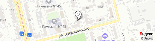 Владмир на карте Комсомольска-на-Амуре