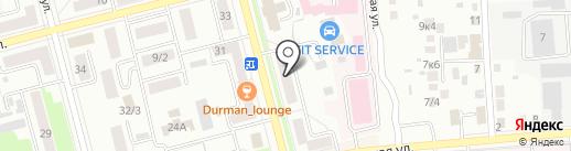 Сантехника на карте Комсомольска-на-Амуре