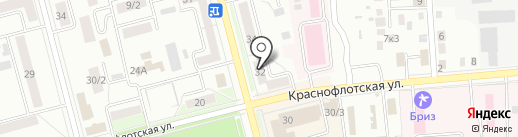 Хабаровский краевой фонд обязательного медицинского страхования на карте Комсомольска-на-Амуре