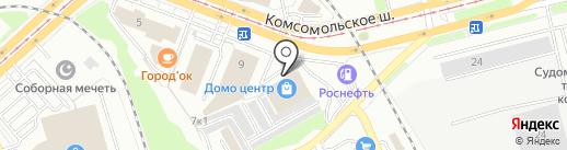 ДомоЦентр на карте Комсомольска-на-Амуре