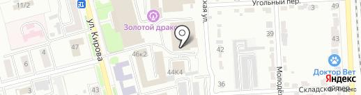 Авто Азия на карте Комсомольска-на-Амуре