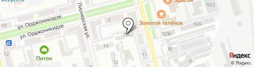 Далькомгео на карте Комсомольска-на-Амуре