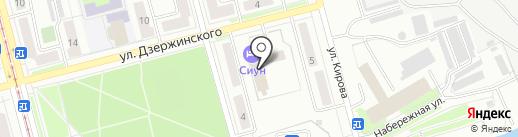 Бизнесцентр на карте Комсомольска-на-Амуре