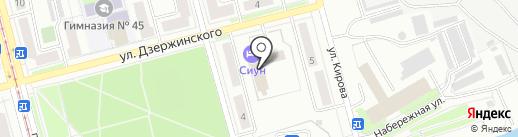 ИНГОССТРАХ, ОАСО на карте Комсомольска-на-Амуре