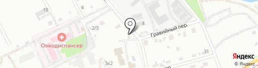 Авто АРТ на карте Комсомольска-на-Амуре