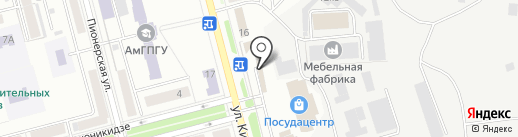 BARDAK на карте Комсомольска-на-Амуре