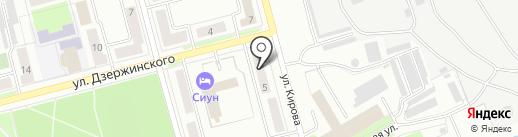 Кристалл-online на карте Комсомольска-на-Амуре