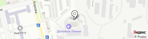 ROSSKO на карте Комсомольска-на-Амуре