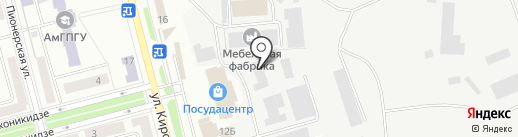 455 Металлообрабатывающий завод на карте Комсомольска-на-Амуре