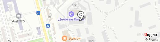 КИТ на карте Комсомольска-на-Амуре