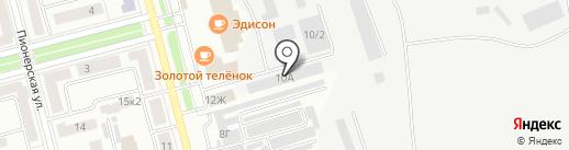 Амур Полимер на карте Комсомольска-на-Амуре