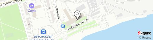 Хатико на карте Комсомольска-на-Амуре