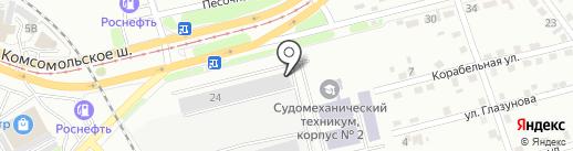 ТехСтандарт на карте Комсомольска-на-Амуре