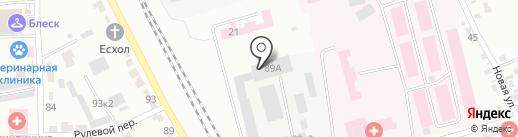 GazМаркет на карте Комсомольска-на-Амуре