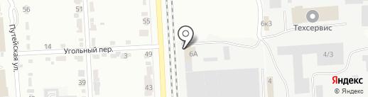 СтройБлок на карте Комсомольска-на-Амуре