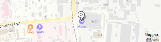 Bomond на карте Комсомольска-на-Амуре