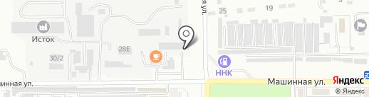 Акамант на карте Комсомольска-на-Амуре