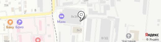 Магазин чая на карте Комсомольска-на-Амуре