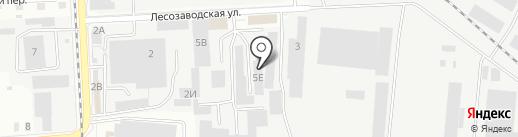 СУПЕРМАРКЕТ ДВ на карте Комсомольска-на-Амуре