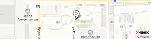 Будьте здоровы! на карте Комсомольска-на-Амуре