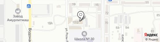 Круглый год на карте Комсомольска-на-Амуре