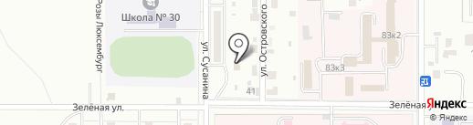 АвтоДоктор на карте Комсомольска-на-Амуре