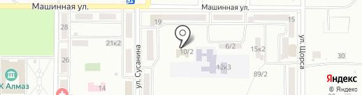 Комсомольский-на-Амуре комплексный центр социального обслуживания населения на карте Комсомольска-на-Амуре