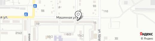 Магазин автозапчастей на карте Комсомольска-на-Амуре