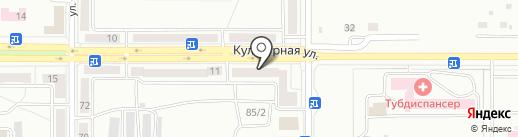 Платежный терминал, Сбербанк России на карте Комсомольска-на-Амуре