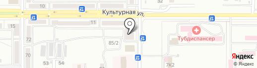 Мастерская компьютерной помощи на карте Комсомольска-на-Амуре