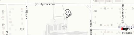 ДАЛЬМЕТ на карте Комсомольска-на-Амуре