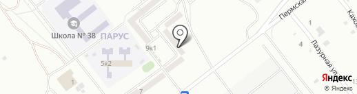 Единый расчетно-кассовый центр г. Комсомольска-на-Амуре на карте Комсомольска-на-Амуре