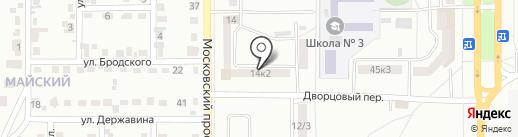 Участковый пункт полиции, Отдел полиции №4 на карте Комсомольска-на-Амуре