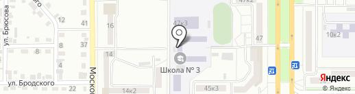 Ступени+, ЧОУ ДО на карте Комсомольска-на-Амуре