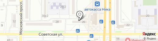 Селенга на карте Комсомольска-на-Амуре