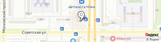 Афанасьев на карте Комсомольска-на-Амуре