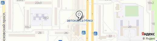 Милашка на карте Комсомольска-на-Амуре