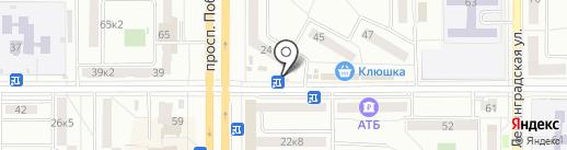 ДАКГОМЗ-Торг на карте Комсомольска-на-Амуре