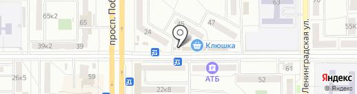 Good Pizza на карте Комсомольска-на-Амуре