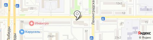 Любимый на карте Комсомольска-на-Амуре