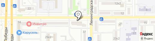 КОЛЕСО ЗДОРОВЬЯ на карте Комсомольска-на-Амуре