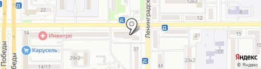 Торговая компания магнитов на карте Комсомольска-на-Амуре
