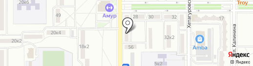 Хороший ребенок на карте Комсомольска-на-Амуре